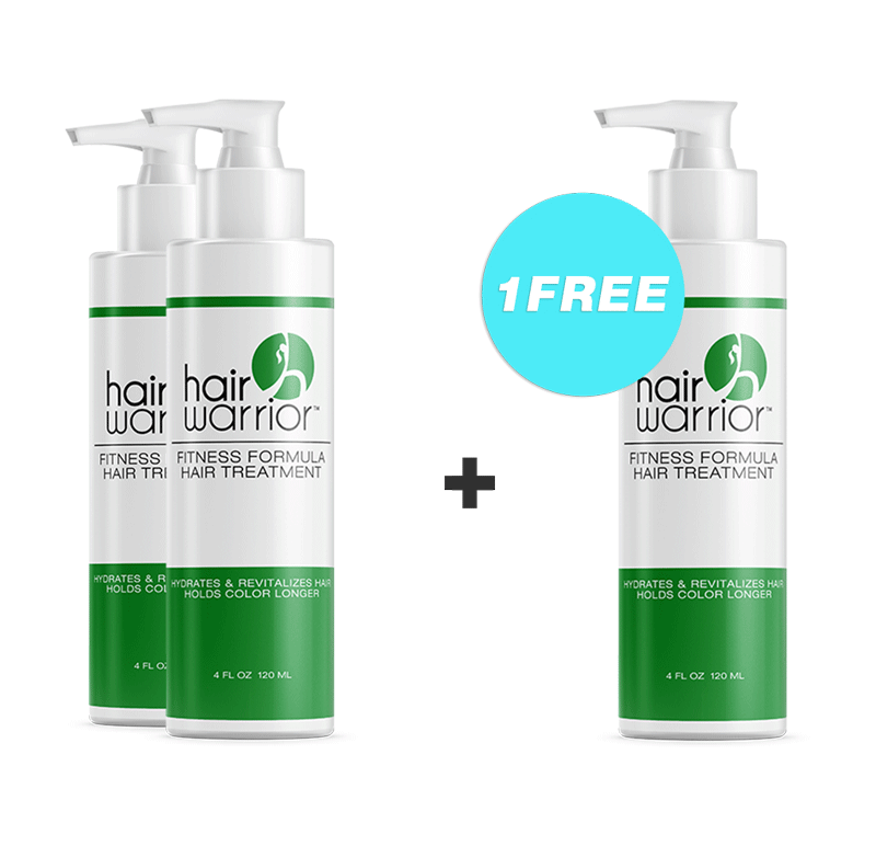 Hair Warrior - Hydrates Hair 2 GET 1 FREE