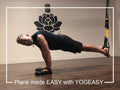 Mike Izzolo Demonstrates A Pain Free Plank Using YOGEASY