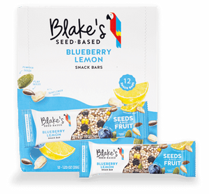 Blueberry Lemon Snack Bars - Box of 12