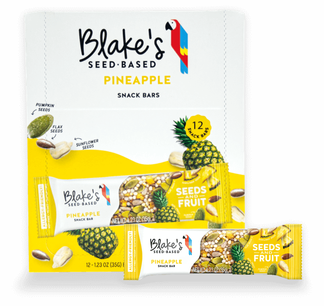 Pineapple Snack Bars - Box of 12