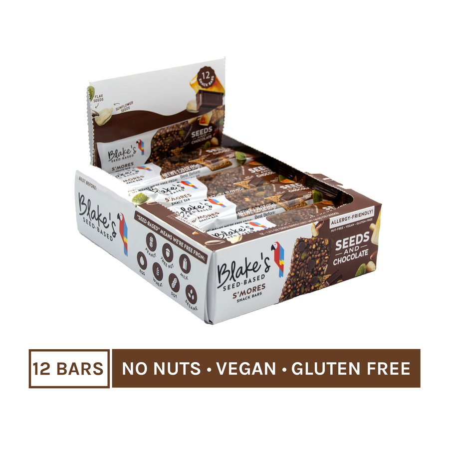 S'mores Snack Bars - Box of 12 - Blake's Nut Free