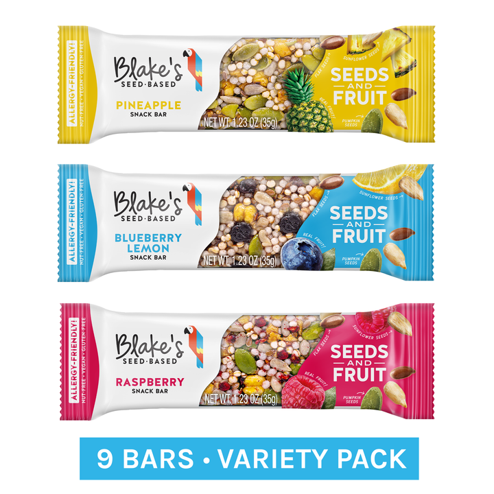 Variety Pack Box of 9 - Blake's Nut Free