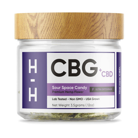 Hhemp CBG Flower - Sour Space Candy