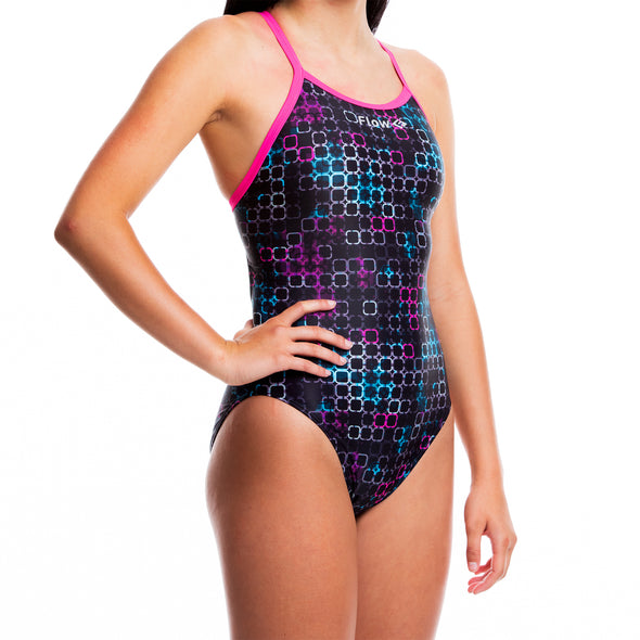 Girls Funky Swimsuit - Technologic