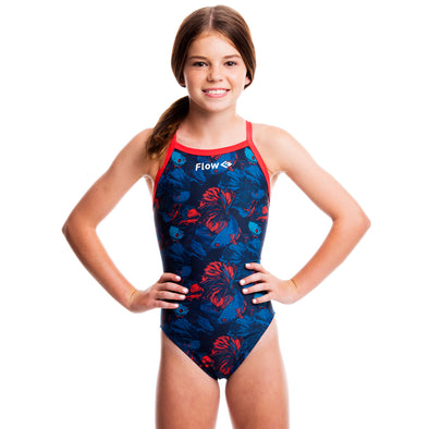 Girls Funky Swimsuit - River Raid