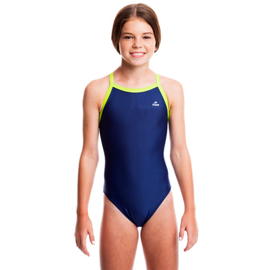 Girls Ignite Swimsuit - Blue/Green