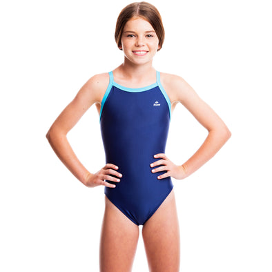 Girls Ignite Swimsuit - Blue/Aqua
