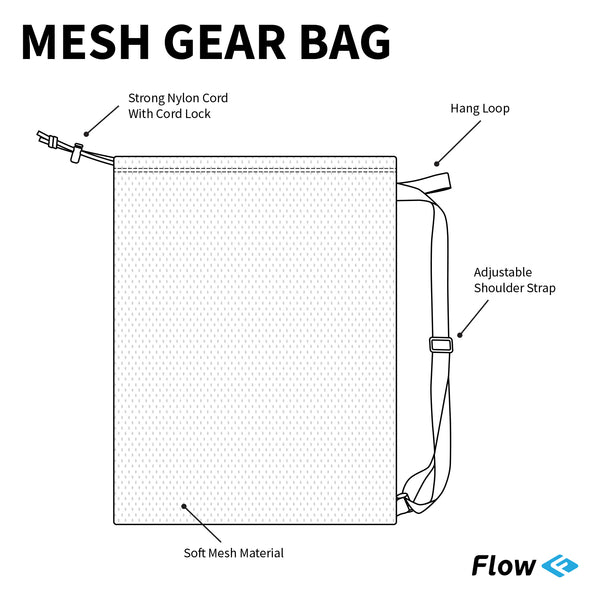 Mesh Gear Bag - Maze Craze
