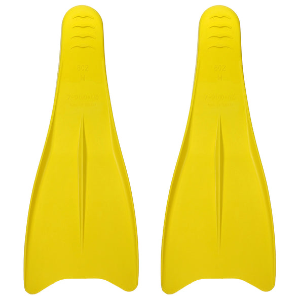 Long Blade Swim Fins - Size M