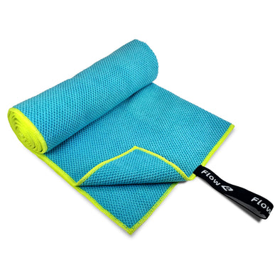 Quick Dry Microfiber Towel - Blue