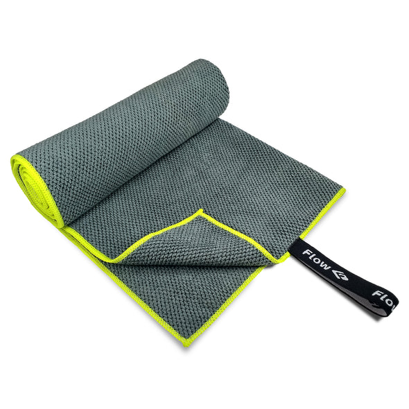 Quick Dry Microfiber Towel - Gray