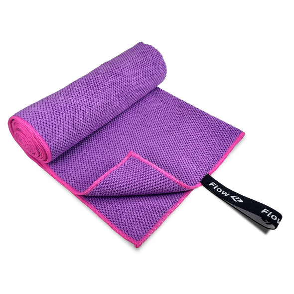 Quick Dry Microfiber Towel - Purple