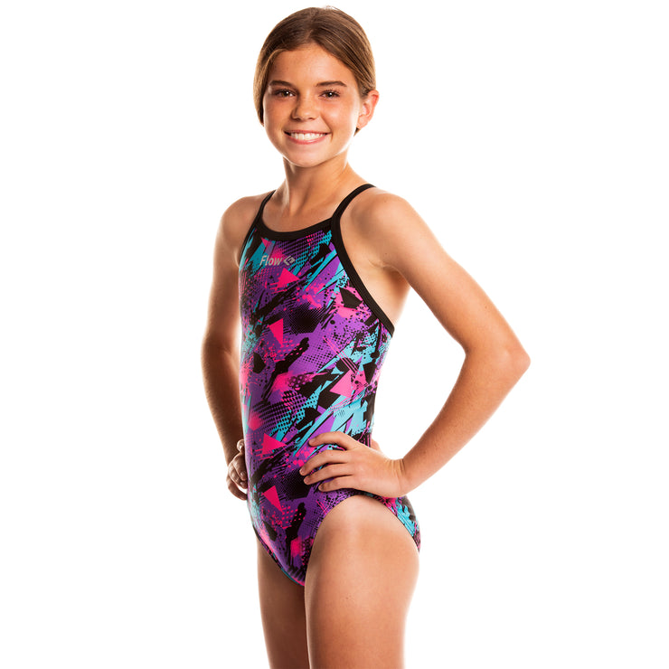 Girls Funky Swimsuit - Blitz