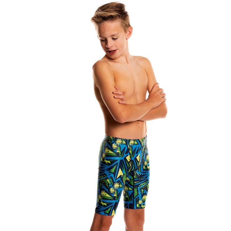 Funky Swim Jammer - High Tide