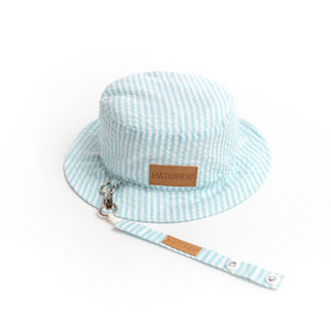 Seersucker Bucket Hatcifier Green