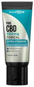 Results RNA | Pure CBD Topical 300mg Extra Strength | 2 oz