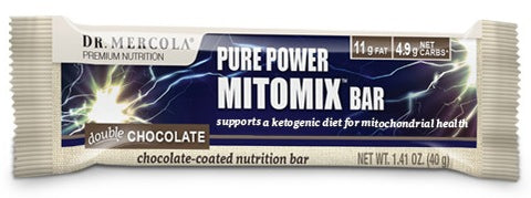 Dr. Mercola | Double Chocolate Mitomix Bars | 12 Bars