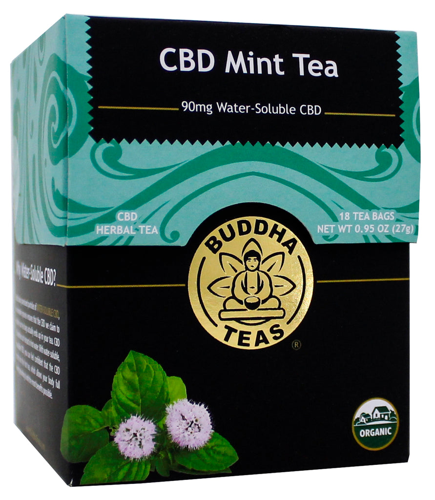 Buddha Teas | CBD Mint Tea | 27 Gram