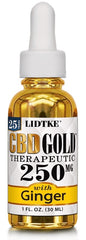 Lidtke/CBD | CBD GOLD with Ginger 250mg | 1 oz (30 ml)