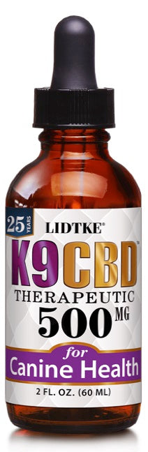 Lidtke/CBD | K9 CBD 500mg | 2 oz (60 ml)