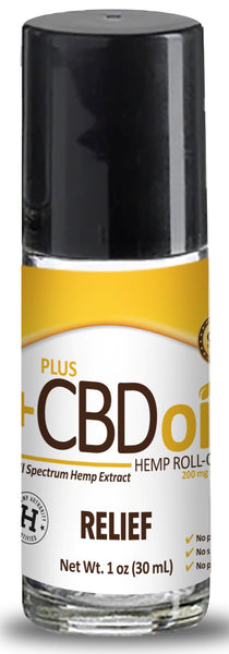 PlusCBD Oil | PlusCBD Oil Relief Roll-On 200mg | 1 oz