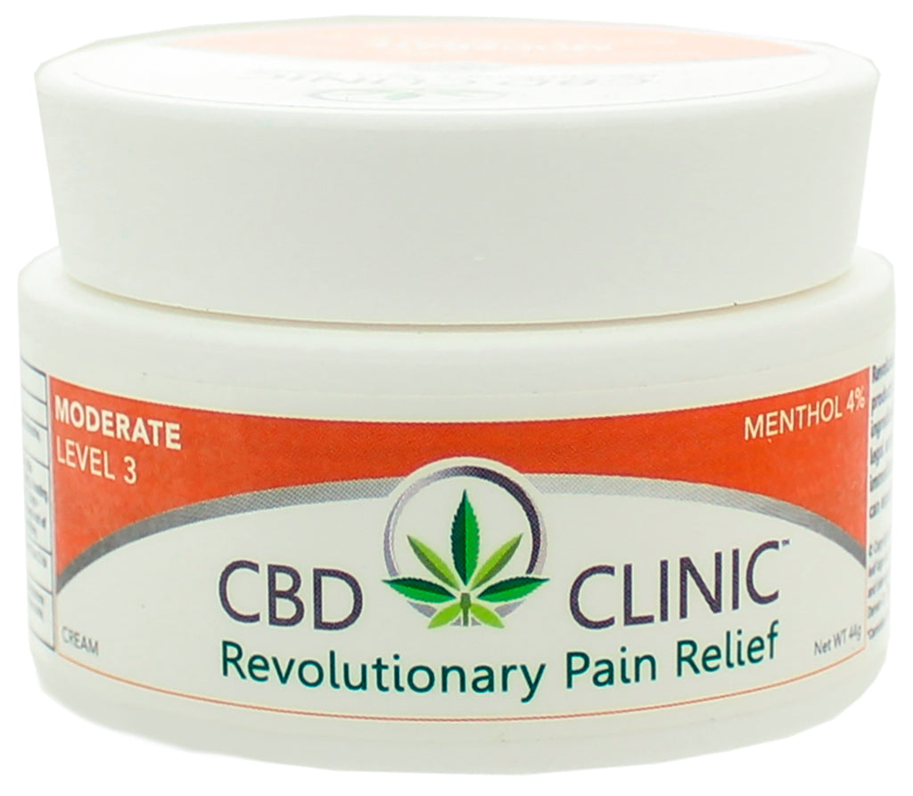 CBD Clinic | Level 3 - Moderate Muscle & Joint Pain Relief | 44 Gram
