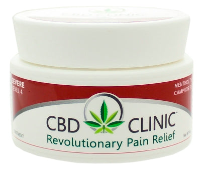 CBD Clinic | Level 4 - Deep Muscle & Joint Pain Relief | 44 Gram