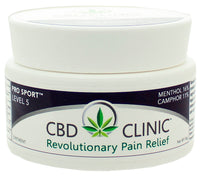 CBD Clinic | Level 5 - Pro Sport Deep Muscle & Joint Pain Relief | 44 Gram