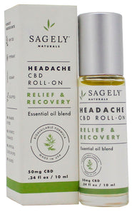 Sagely Naturals | Relief & Recovery Roll-On | 10 ml