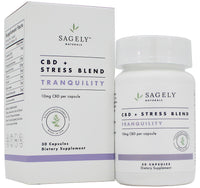 Sagely Naturals | Tranquility Capsules | 30 Capsules