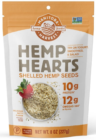 Manitoba Harvest | Hemp Hearts (Shelled Hemp Seed) | 8 oz