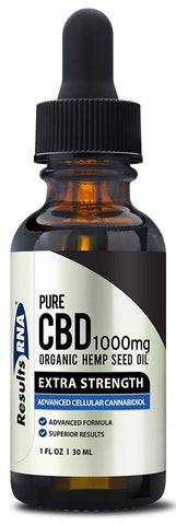 Results RNA | Pure CBD 1000mg Organic Hemp Oil | 30 ml