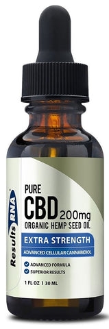Results RNA | Pure CBD 200mg Organic Hemp Oil | 30 ml