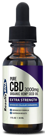Results RNA | Pure CBD 3000mg Organic Hemp Oil | 30 ml