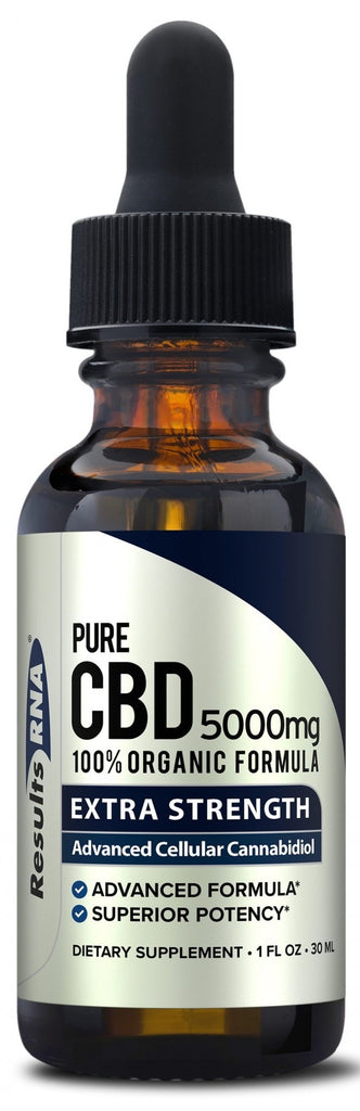 Results RNA | Pure CBD 5000mg Extra Strength | 30 ml