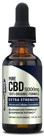 Results RNA | Pure CBD 5000mg Organic Hemp Oil | 30 ml