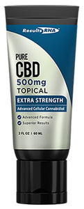 Results RNA | Pure CBD Topical 500mg Extra Strength | 2 oz