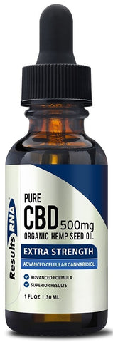 Results RNA | Pure CBD 500mg Organic Hemp Oil | 30 ml