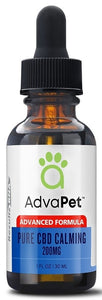 Results RNA | Advapet Pure CBD Calming 200mg | 1 oz (30 ml)