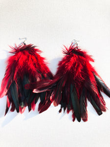 Red Robin Feathers - Nappy Rutz