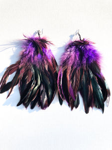 Purple Pleasure Feathers - Nappy Rutz