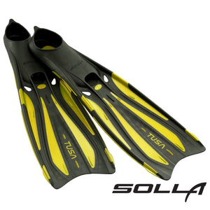 Review of TUSA Solla Fins