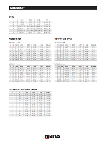 mares-sizing-chart-bcd-wetsuits