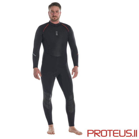 Proteus II 5mm Wetsuit: Mens - Oyster Diving Equipment