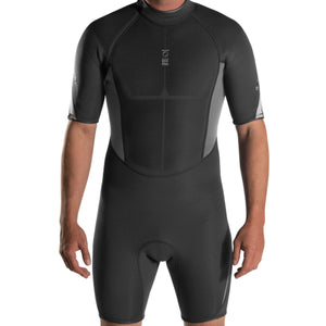 Xenos 3mm Shortie Wetsuit: Mens DISCONTINUED - Oyster Diving Equipment
