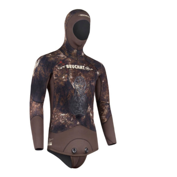 Rocksea Trigocamo Wide Freediving Jacket 5mm - Oyster Diving Equipment
