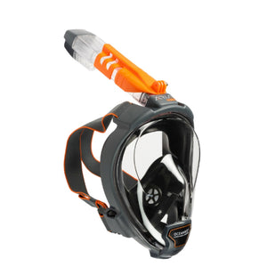 Aria QR+ with Camera Holder Full-Face Mask and Snorkel - Oyster Diving Equipment