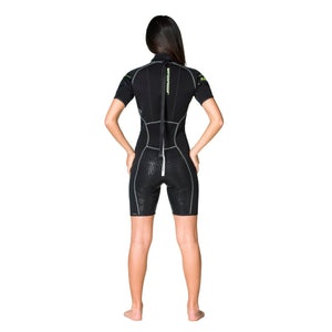 W30 2.5mm Shorty Wetsuit: Womens - Oyster Diving Equipment