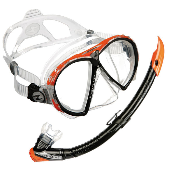 Favola Mask and Zephyr Professional Set - Oyster Diving Equipment