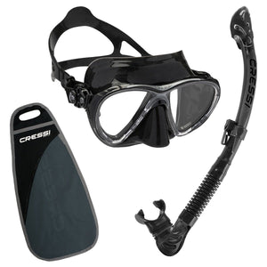 Big Eyes Evolution & Alpha Ultra Dry Snorkelling Set - Oyster Diving Equipment